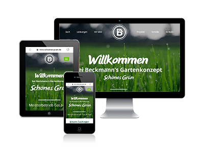Angebot Webdesign One-Page