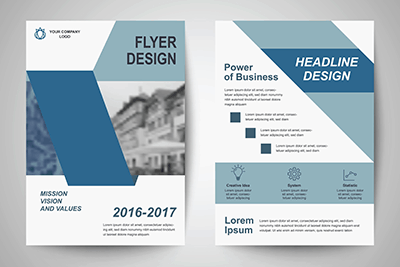 Corporate Design - Flyer und Faltblätter